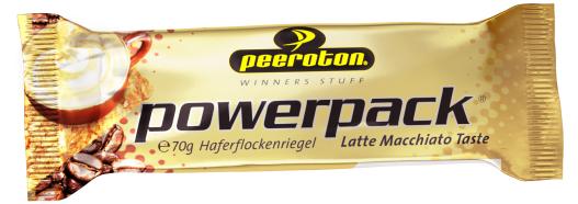 PEEROTON Power Pack Riegel Latte Macchiato