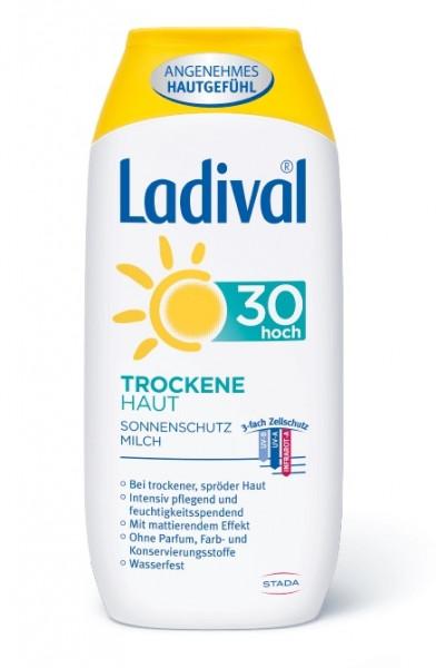 LADIVAL Trockene Haut Sonnenschutz Milch LSF 30