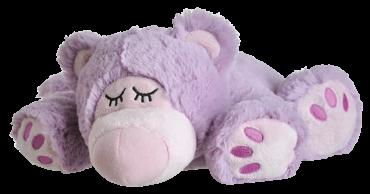 Wärmestofftier Sleepy Bear lila