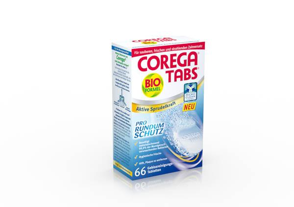 Corega Tabs mit Bioformel 66 Tbl