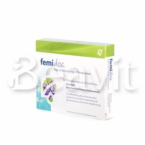 Femidoc Agnuscastus 20 mg - Filmtabletten