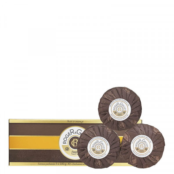 Roger & Gallet Bois d'Orange - Seifencoffret 3*100g Set