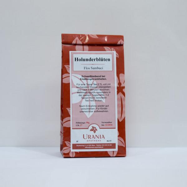 Urania Apotheke Holunderblüten 50g