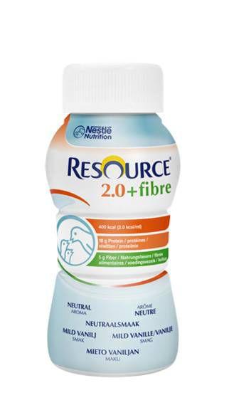 Resource® 2.0+fibre Neutral 24x200ml