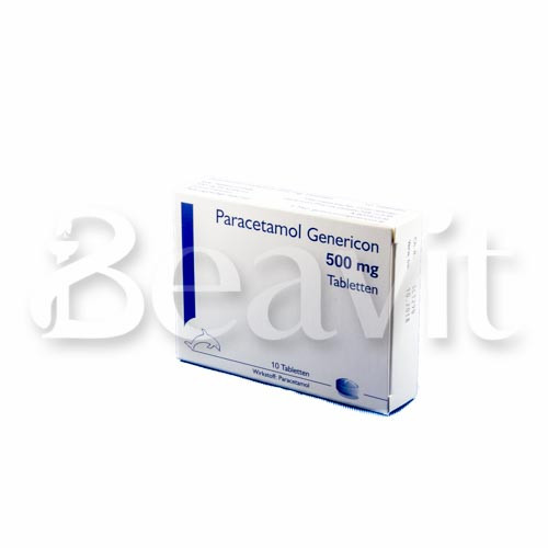 Paracetamol Genericon 500 mg Tabletten